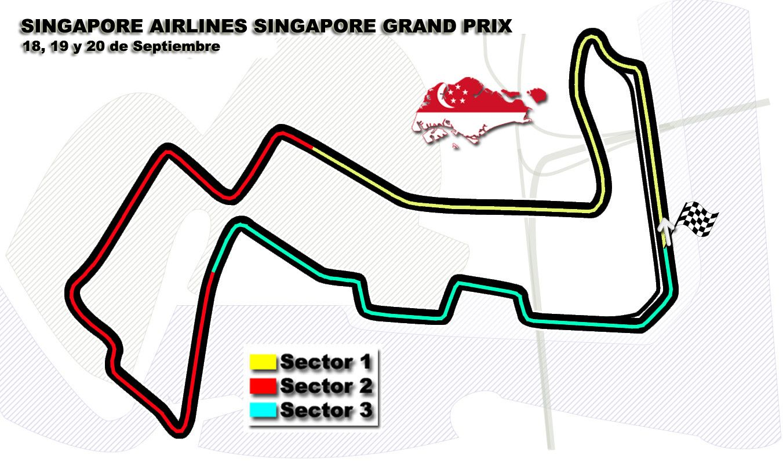 Estadísticas históricas del GP de Singapur F1 2015  #F1 #Formula1 #SingaporeGP