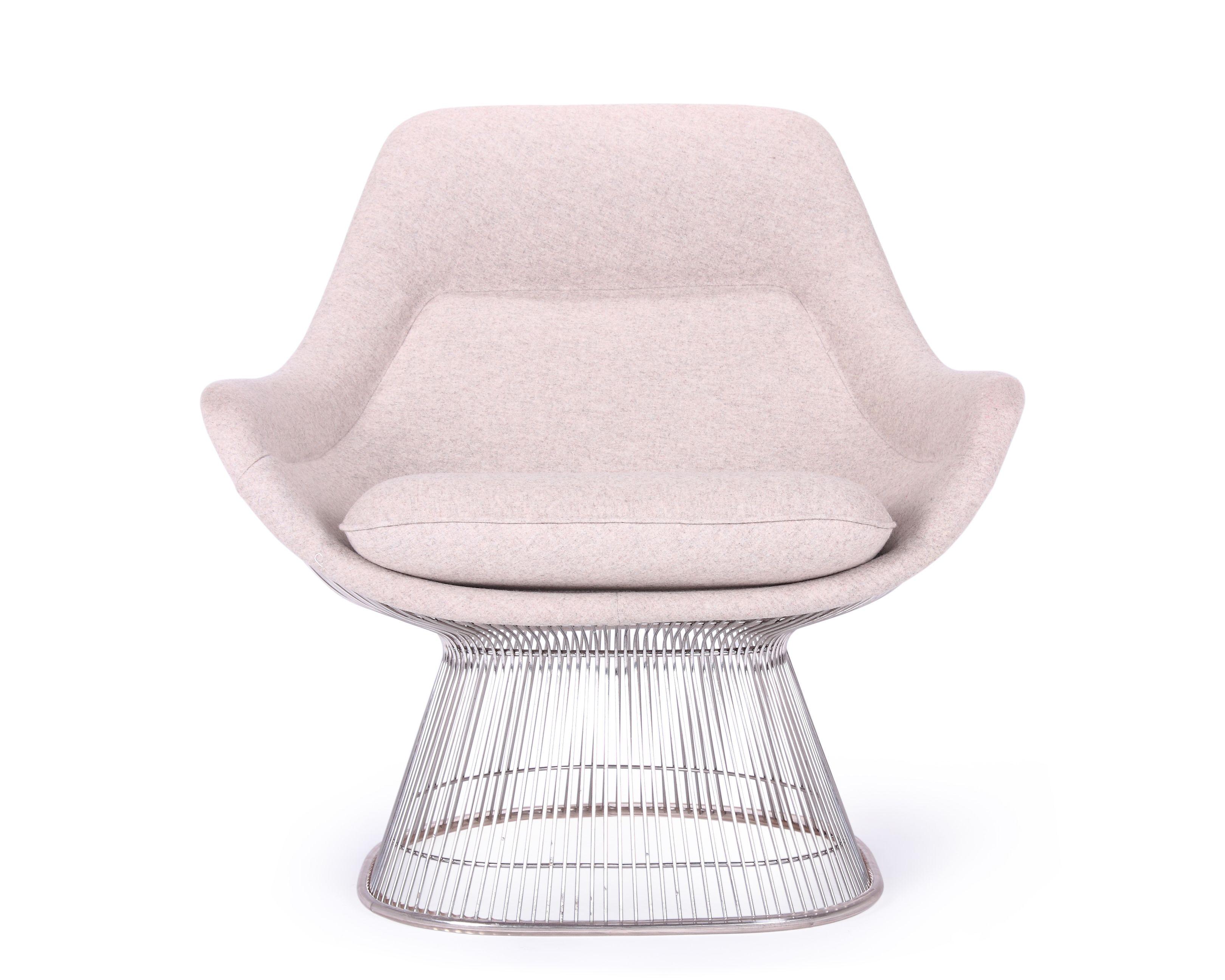 Easy does it. The Warren Platner Easy Chair