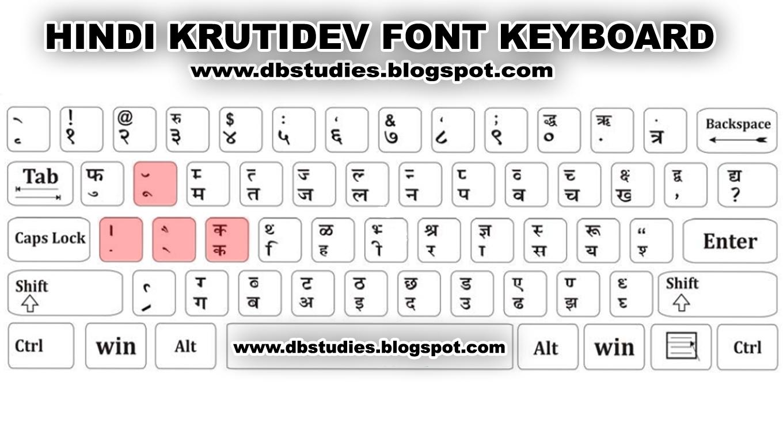 Hindi Font Krutidev Keyboard Layout Auto Design Tech in