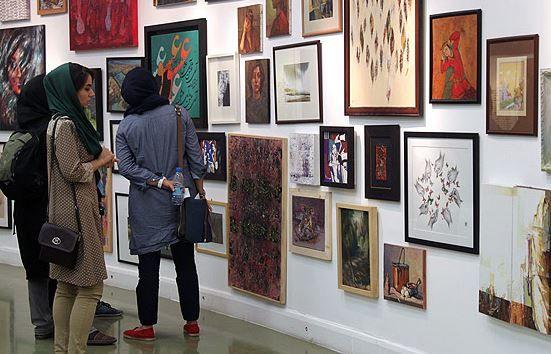 Iranian modern art works on show at Artist Forum A modern