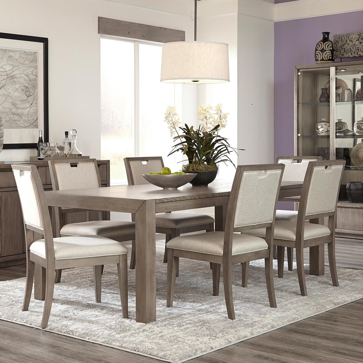Product Main Image 0 Grey Dining Tables 7 Piece Dining Set