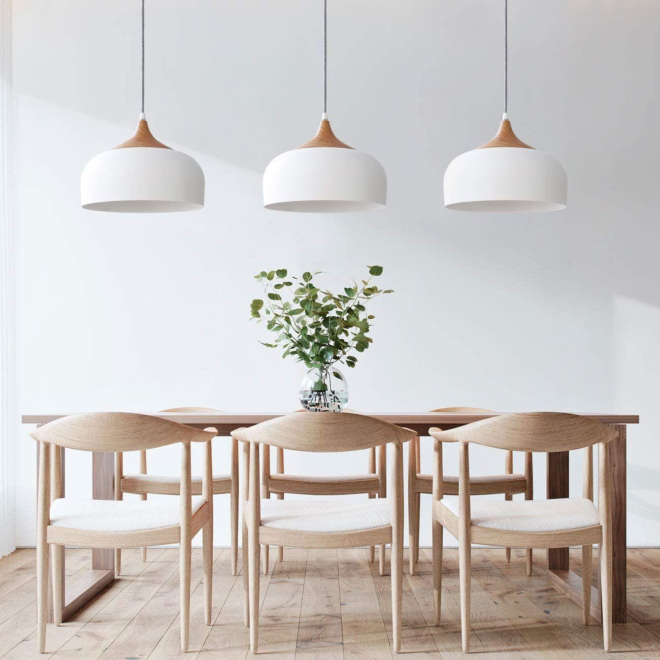 Moderna Lampara Led Colgante Dining Room Light Fixtures Scandinavian Dining Room Dining Room Pendant Dining room light fixtures