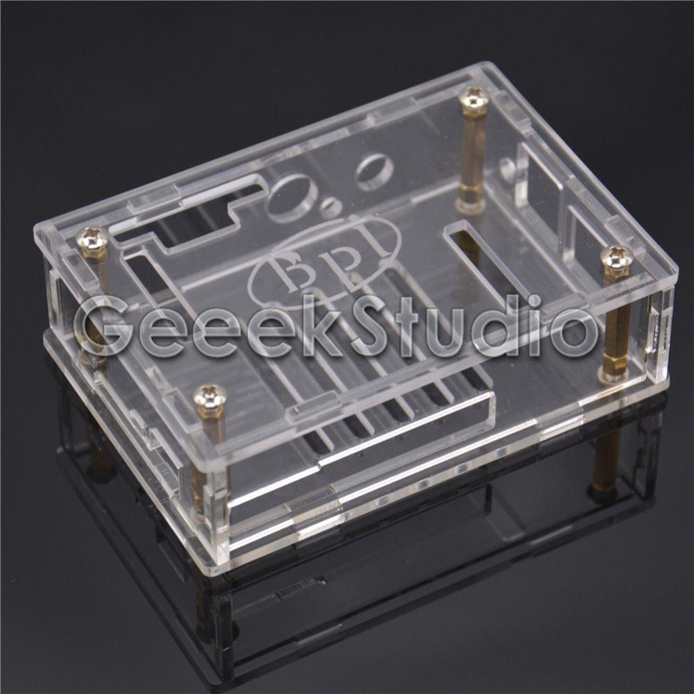 Transparent Clear Acrylic Case Cover Shell Enclosure Box For Banana Intel Edison Development Board Electronics Circuit Pi M1 Bpi