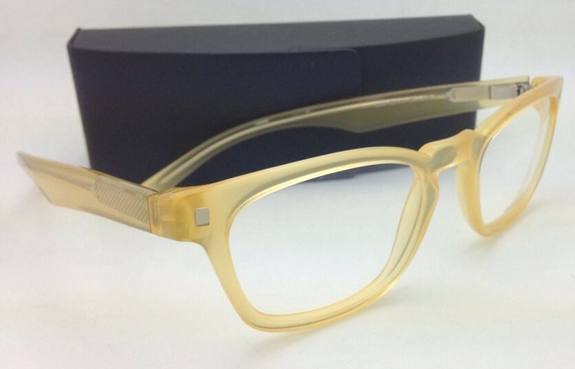 Brand New OSCAR MAGNUSON Eyeglasses 8693 9211 52 20 140 Transparent Yellow Frame