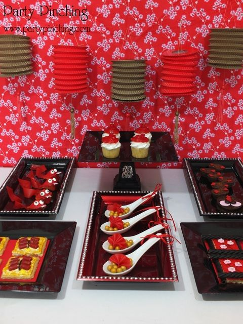 Chinese theme party decoration ideas — photo 1