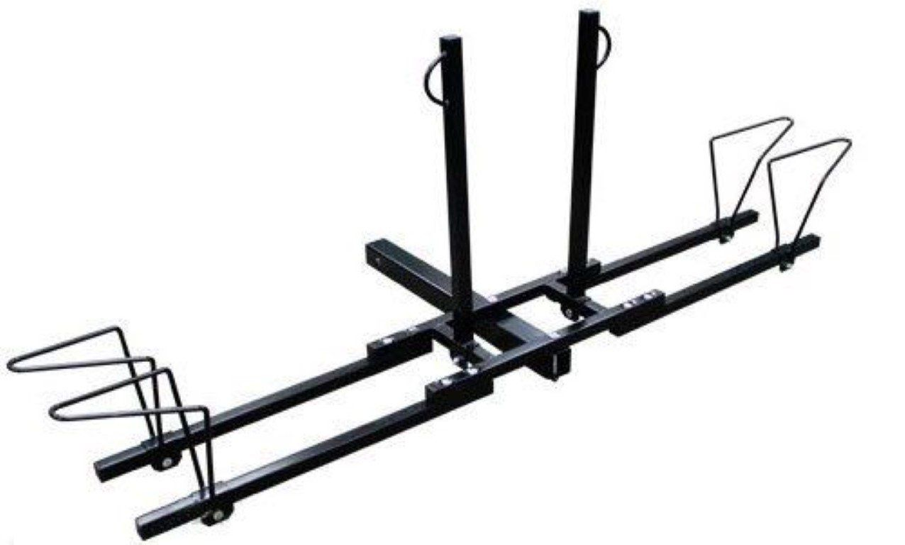 """New Heavy Duty 2 Bike Bicycle 2"""" Hitch Mount Carrier"""