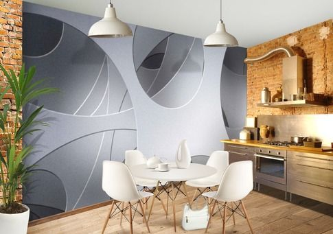 3d Graphics Feature Wall Mural Wall Graphics Wall