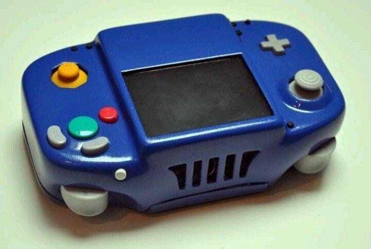 Gamecube Portable Fan Made Gamecube Retro Video Games Gameboy
