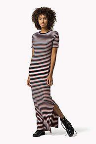 1bdd6360700161 Shop de gebreide maxi-jurk en verken de Tommy Hilfiger maxi jurken  collectie voor dames