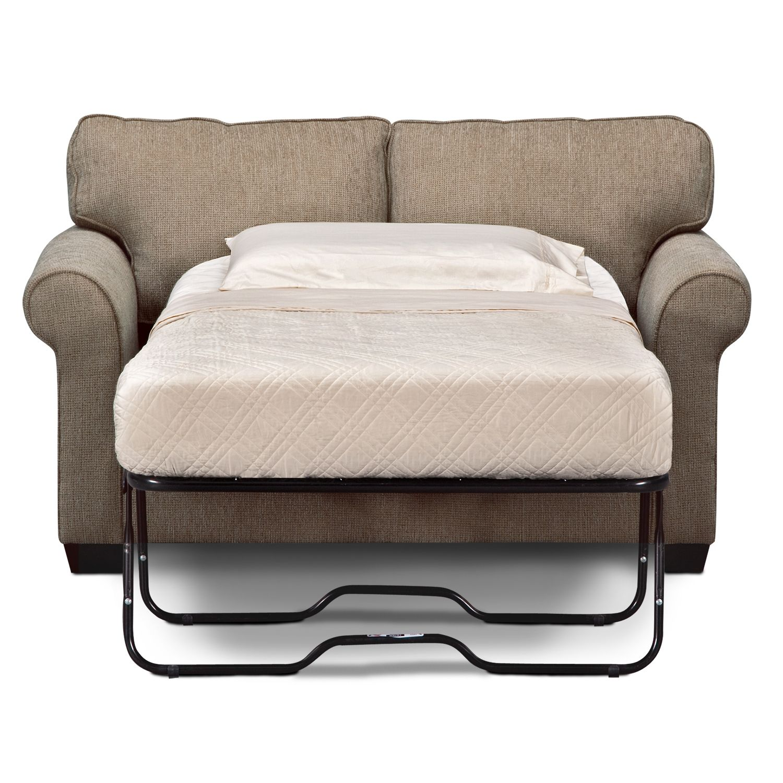 Ilration Of Twin Size Sleeper Sofa