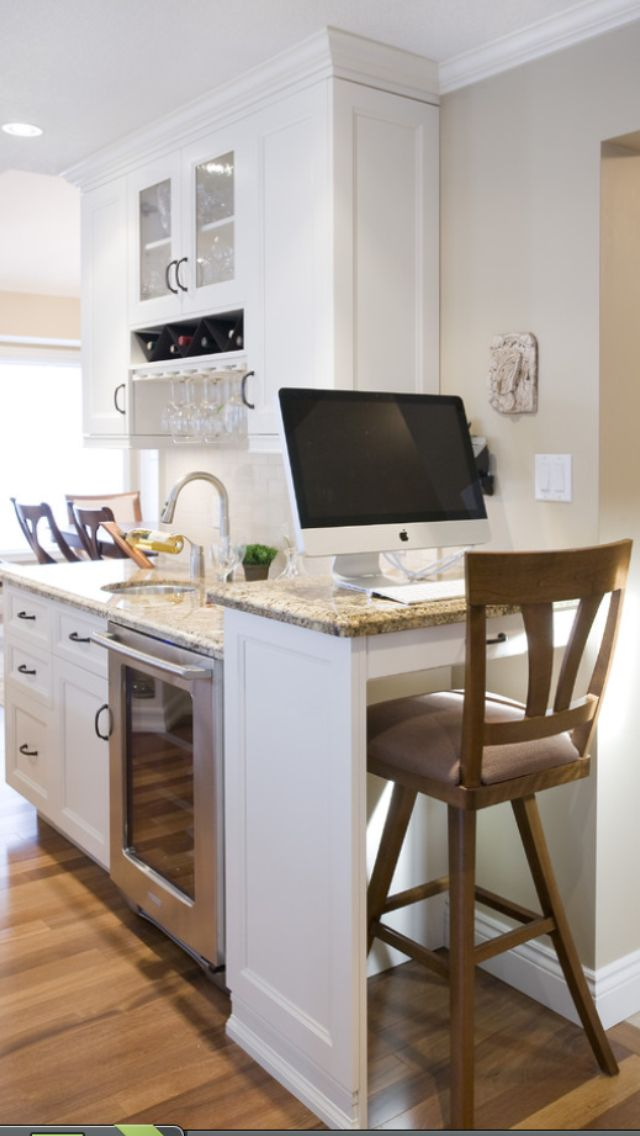 Liking this kitchen desk