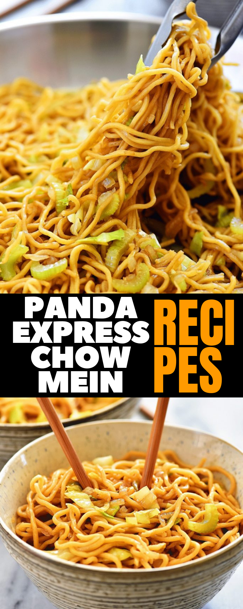 Easy Panda Express Chow Mein Dinner Recipes Dinnerrecipes Noodlerecipes Deliciousrecipes Chow Mein Panda Express Chow Mein Best Chinese Food