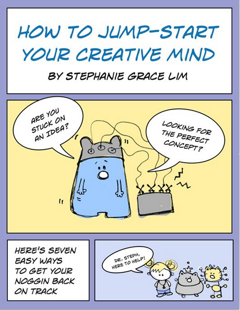 How to Jump-Start Your Creative Mind. Essential training by Stephanie Grace Lim on how to come up with illustration concepts.