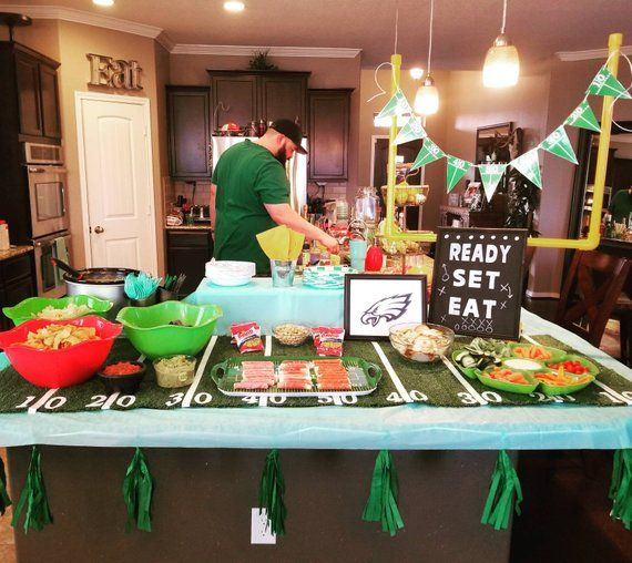 Turf Table Runner Football Party Decorations Party