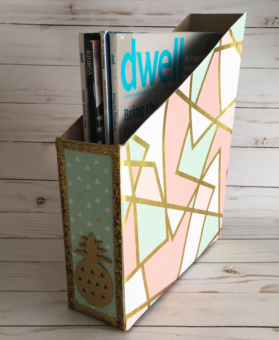 3 Organizing Hacks Using Recycled Materials Handmade Happy Hour Diy School Supplies Diy Gifts Diy Gifts For Friends
