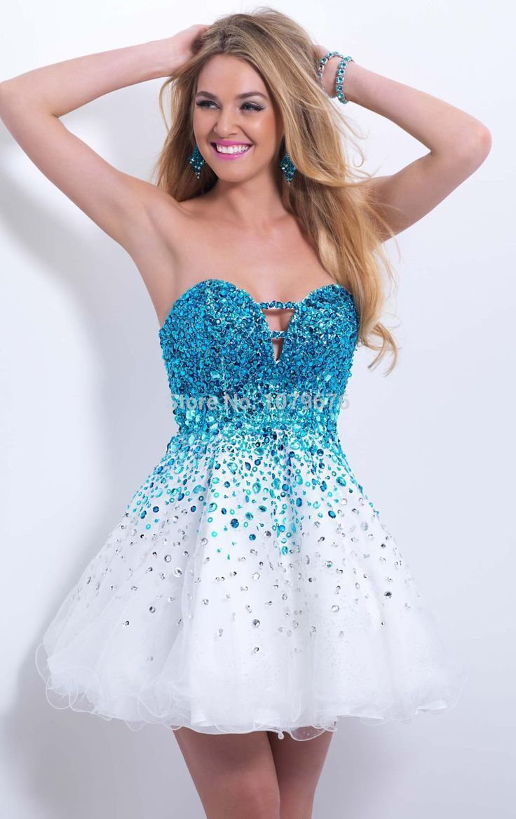 Awesome ombre prom dress sparklycrystalsweetheartfontbwhiteb