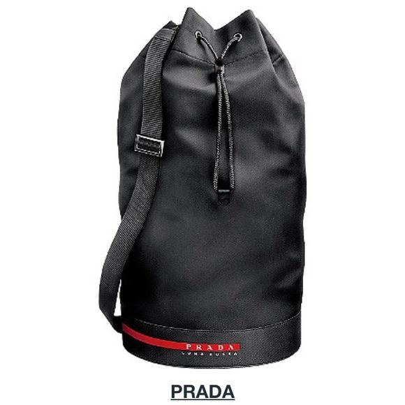 f2941fe5dc6e Prada Luna Rossa Extreme Mariner Bag Prada Luna Rossa Extreme Mariner Bag •  New in Plastic Bag and Dust Bag Zip • Travel/ Gym Duffle Backpack style can  be ...