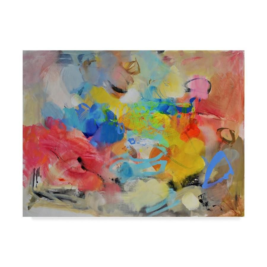 Artist: Gabi Ger. Subject: Abstract. Product Type: Gallery-Wrapped Canvas Art. Printed with Gicle process. Trademark Fine Art Gabi Ger
