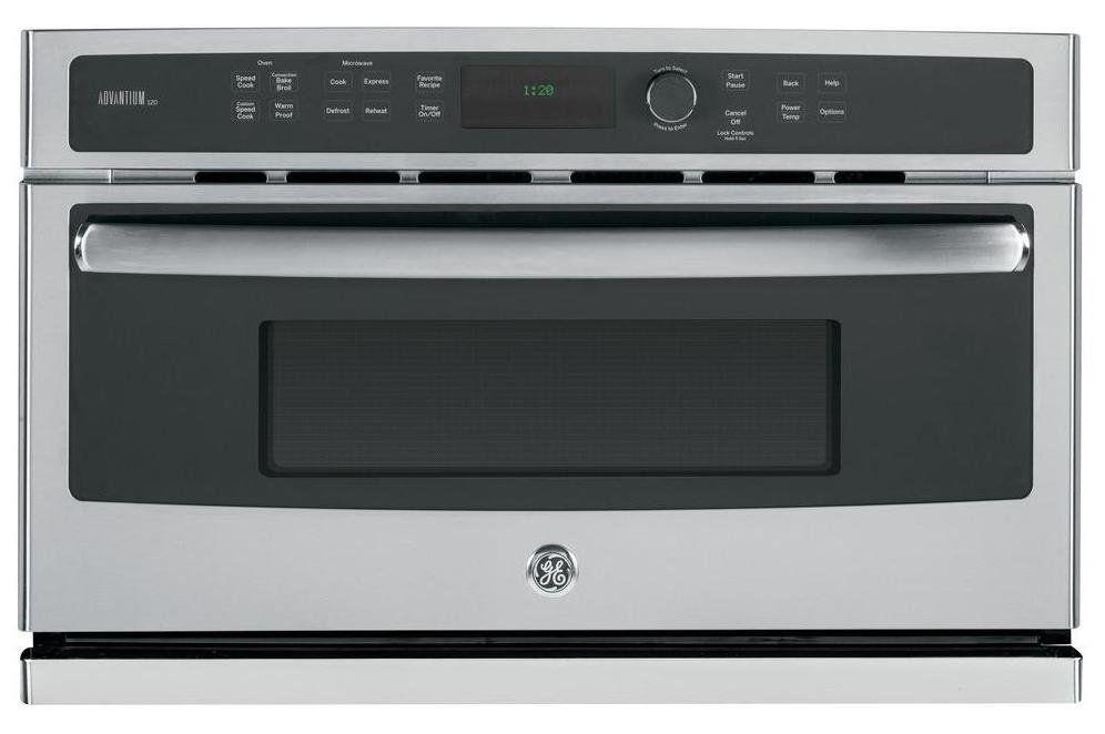 Ge Profile 30 Inch Built In Microwave 1 7 Cu Ft Stainless Steel Built In Microwave Microwave Stainless Steel