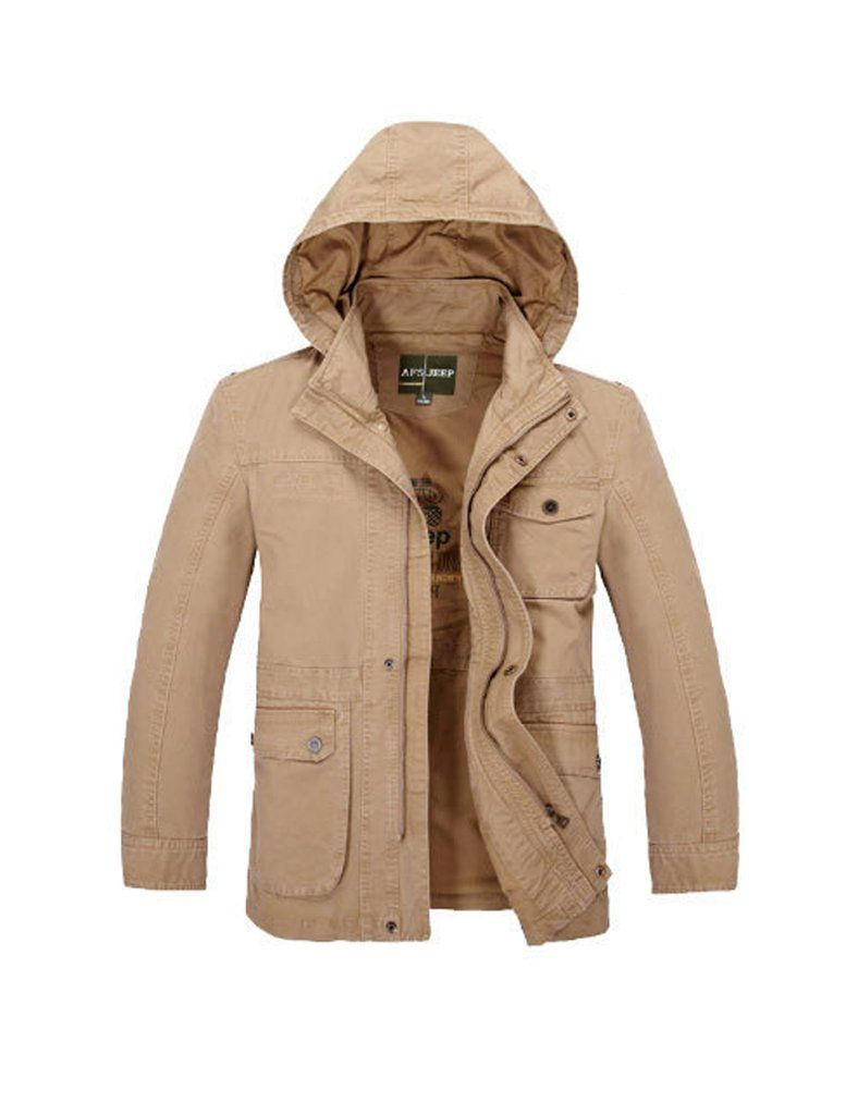 Men S Jacket Detachable Hooded Cotton Outwear Type Lightweight Jackets Windbreakers Style Fashion Classic Casua Mens Jackets Stand Collar Jackets Jackets [ 1024 x 788 Pixel ]