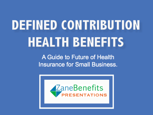 Defined Contribution Health Benefits Presentation Smallbusinesshealthinsurance With Images Health Benefits Presentation Health