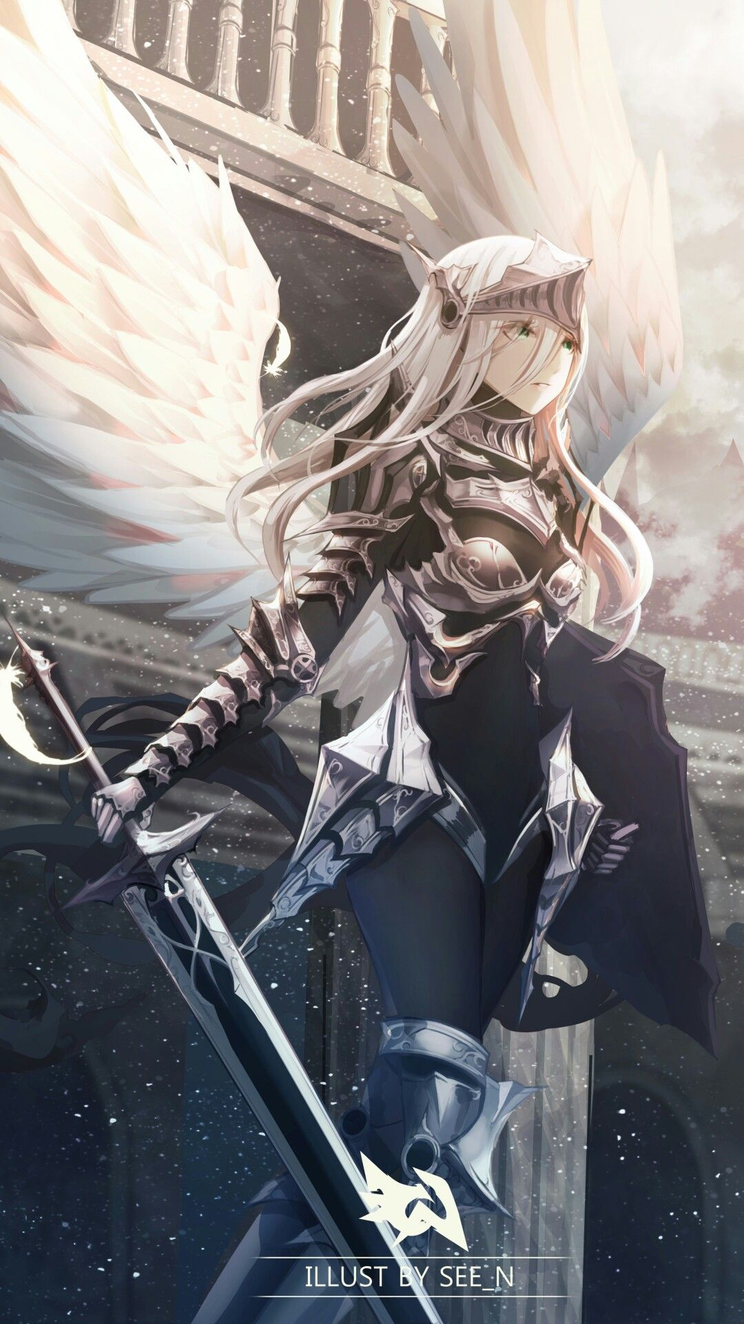 Pin By Paci On Names Anime Warrior Anime Angel Anime Art Girl