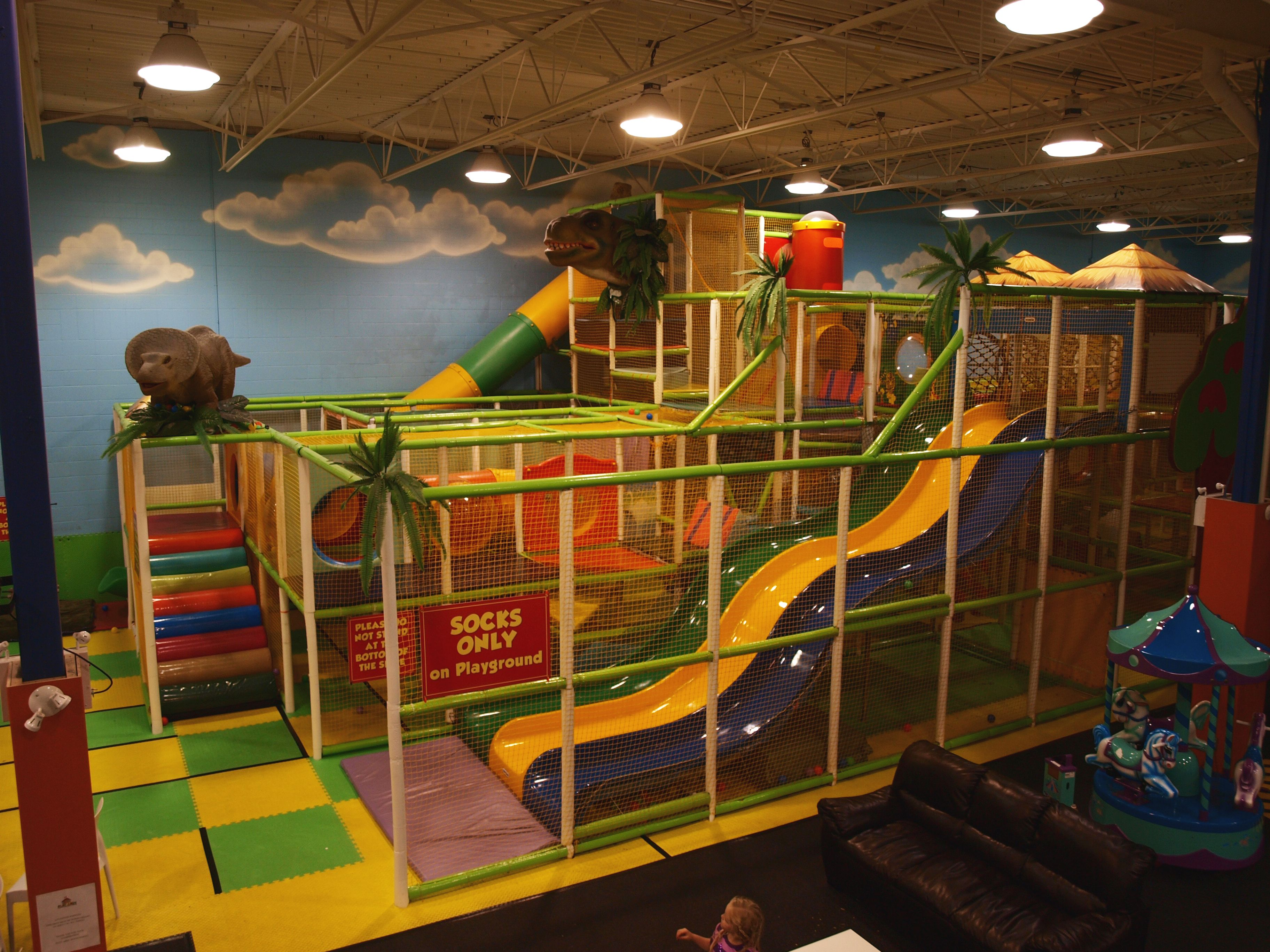 Abbotsford BC Kids Birthday Parties at Play Abby & A portion or our main playground. Its SO BIG you have to see it ...