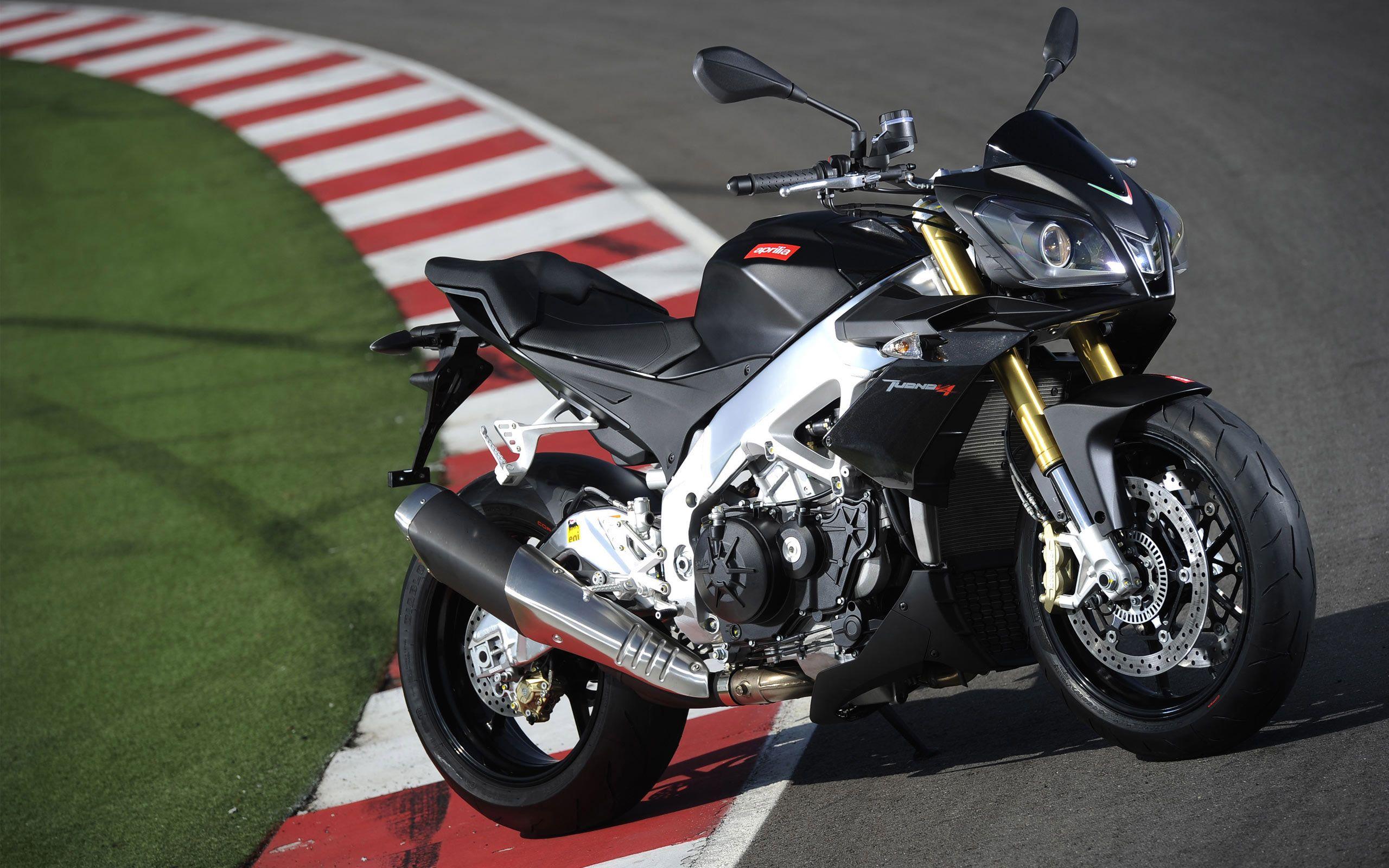 Black Aprilia Tuono V4R  | Nice Rides | Motorcycle, Street