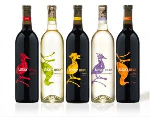 Lucky Duck wine! My absolutely fav cheap wine..and you only find it at WALLY WORLD!