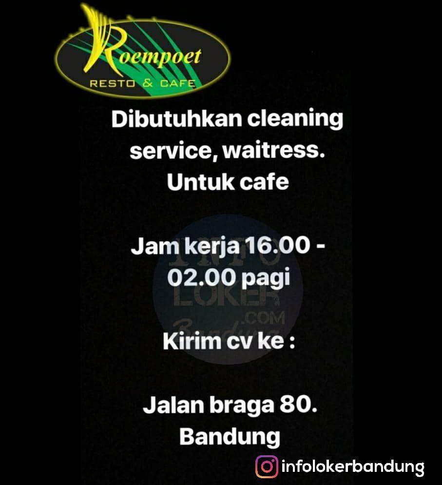 Lowongan Kerja Cafe Bandung