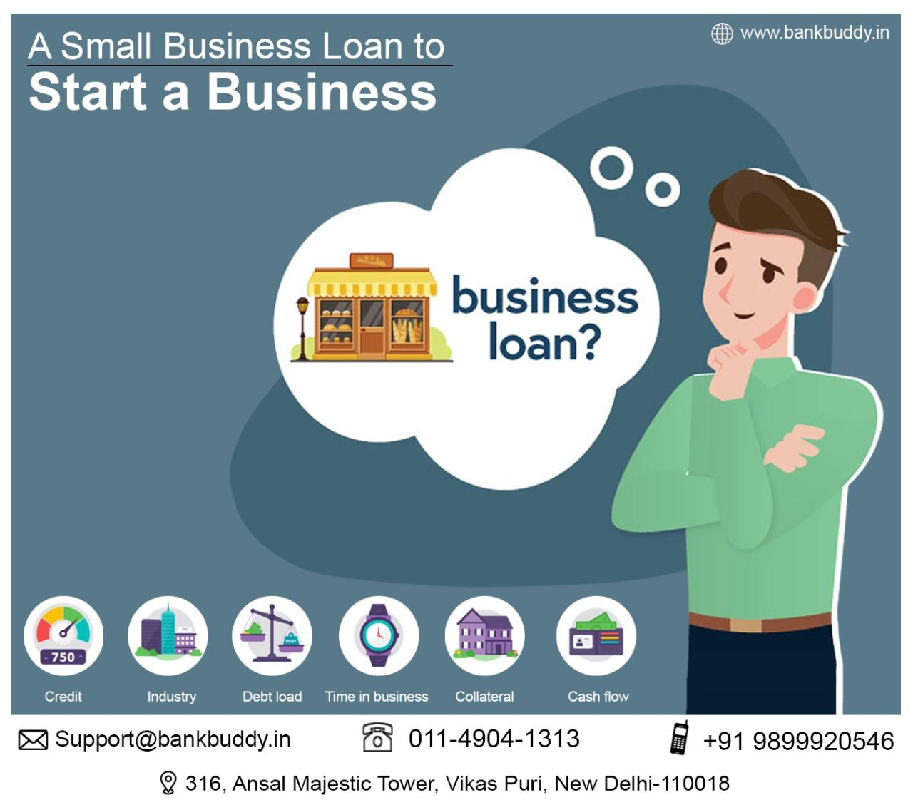 A Small Business Loan To Start A Business Small Business Loans Business Loans Starting A Business