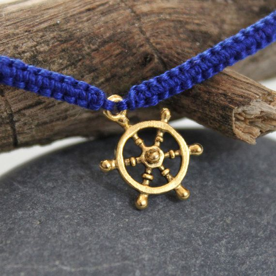 Nautical Wheeler Friendship Bracelet