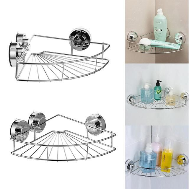 Bath Shelf Shower Caddy With Strong Suction Cups Rustproof