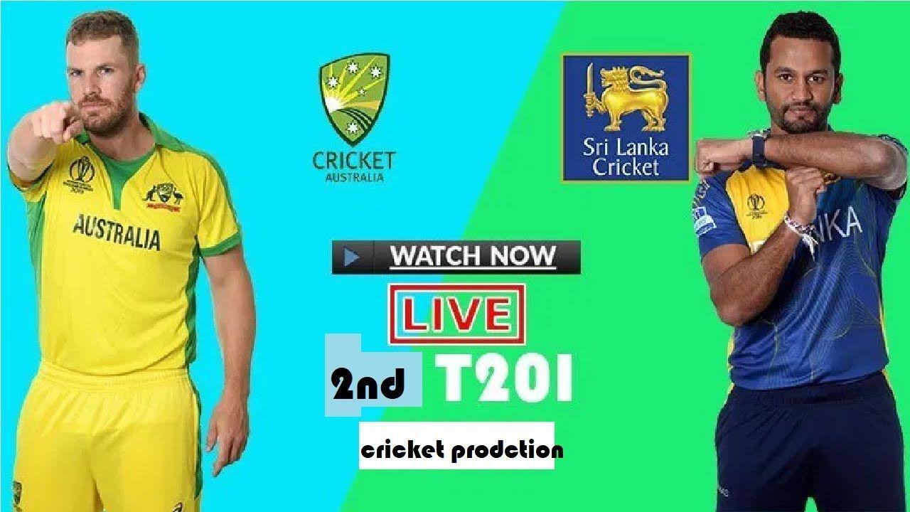 Australia v Sri Lanka 2nd T20 Game 2 score LIVE MATCH
