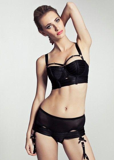 nothings fine lingerie barely