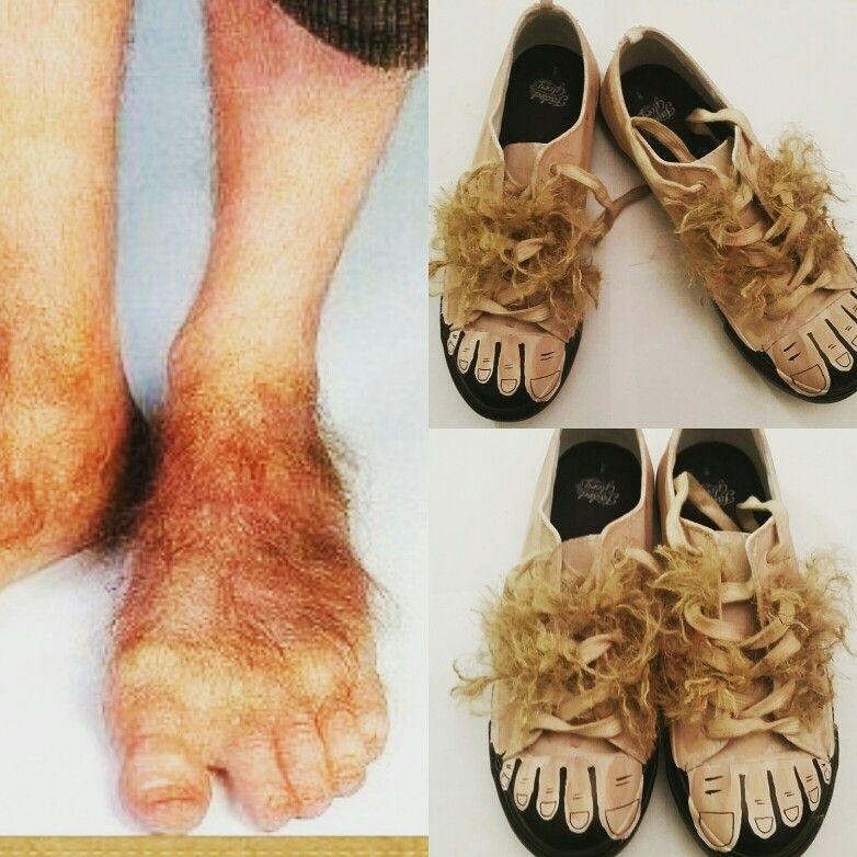 Diy Hobbit Feet Hobbit Feet Hobbit Costume The Hobbit