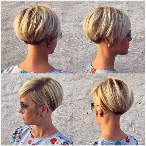 Blonde Lang Pixie Frisur Idee Hair Cut Pinterest Hair Style