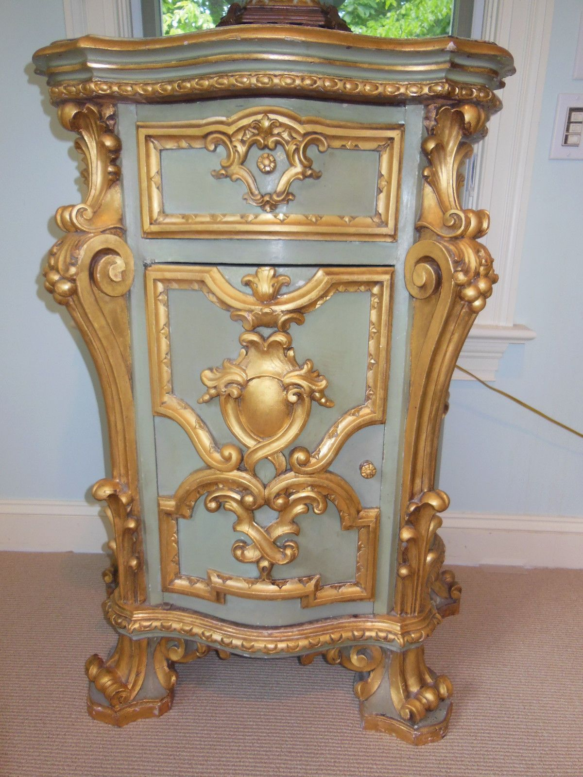 Complete Bedroom Furniture Sets: Designer King Louis XVI Complete Bed Bedroom Set With