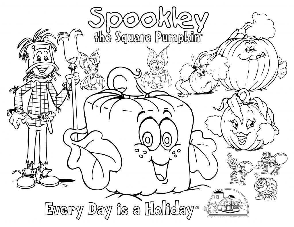 Coloring And Activity Spookley The Square Pumpkin Pumpkin Coloring Pages Christmas Coloring Pages Fall Kindergarten