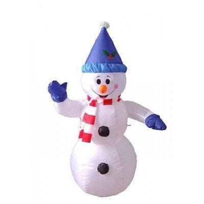 BZB Goods Christmas Inflatable Happy Snowman Decoration Products