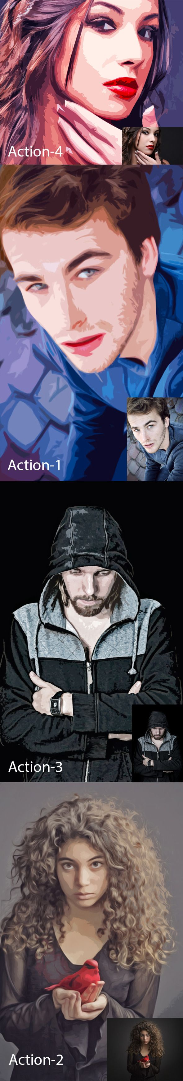 Abstract Action - Photo Effects Actions