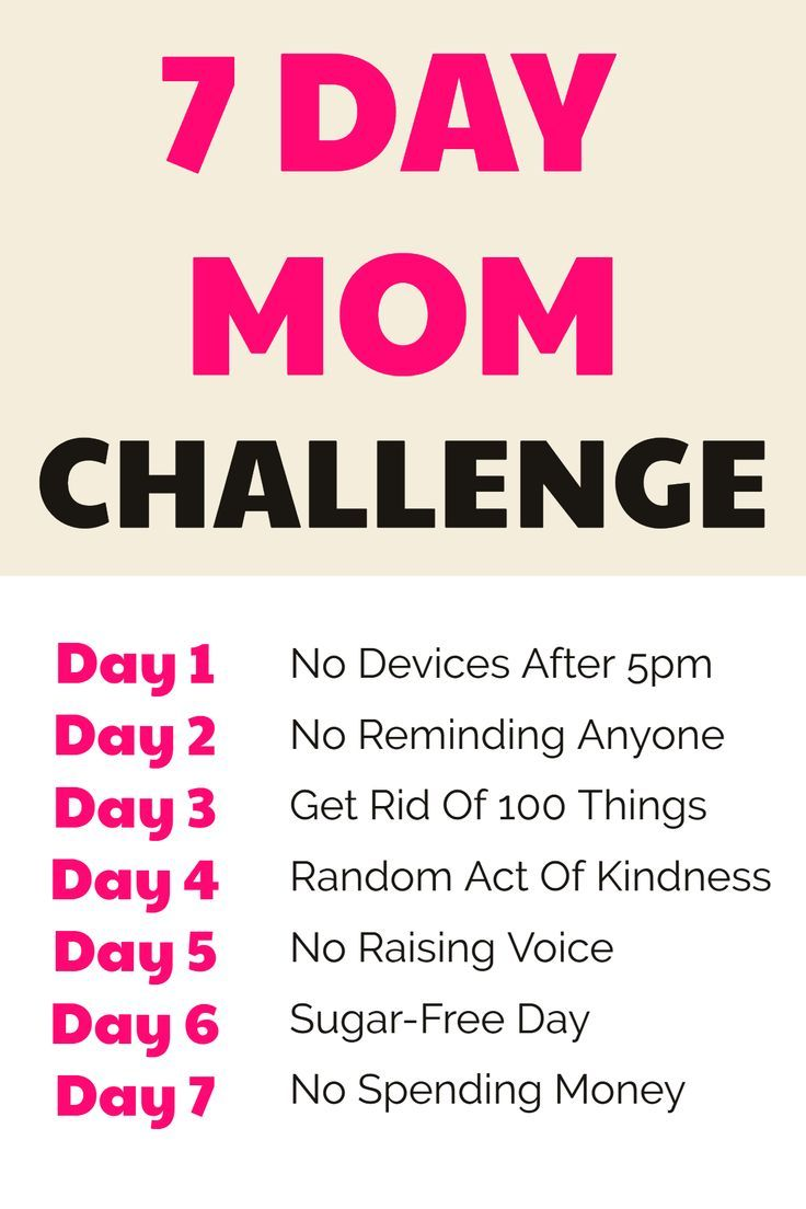 Photo of Parenting Challenge – 7 Day Mom Challenge That Will Change Your Life