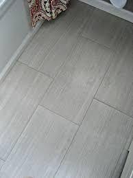 Image Result For Images Of Light Gray Floor Tile With Dark Grout Grey Floor Tiles Grey Flooring Shower Tile Patterns