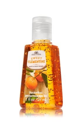 Sweet Clementine Pocketbac Sanitizing Hand Gel Anti Bacterial