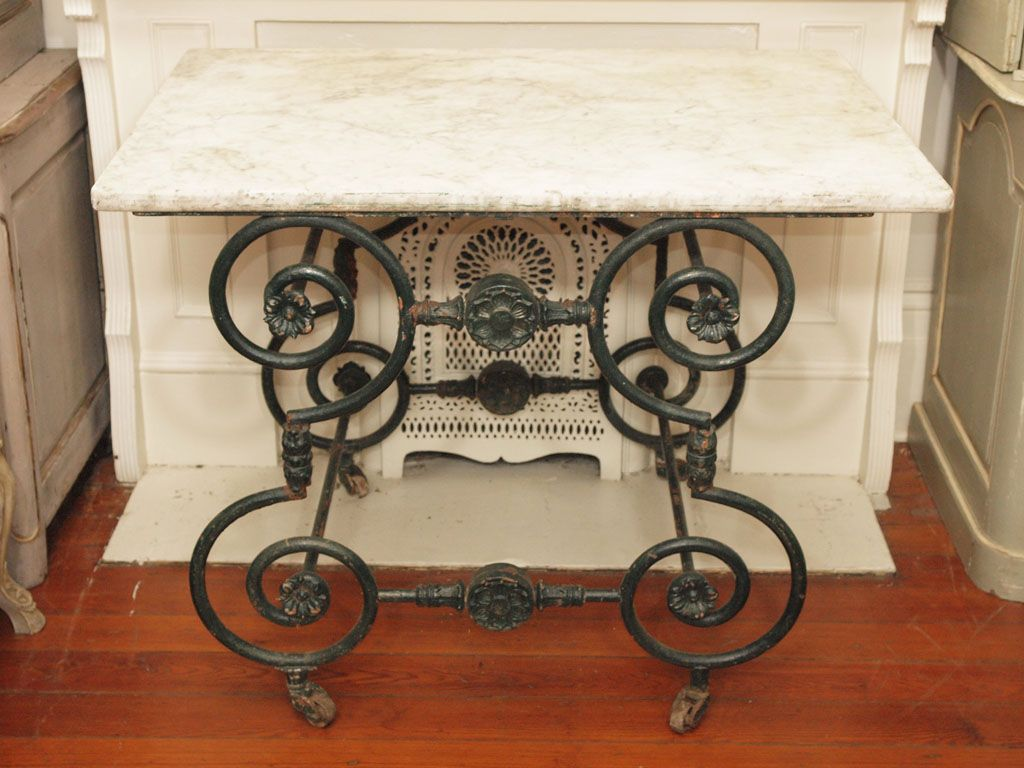 19th Century Pastry Table 1stdibs Com Table Sewing Table Metal Furniture