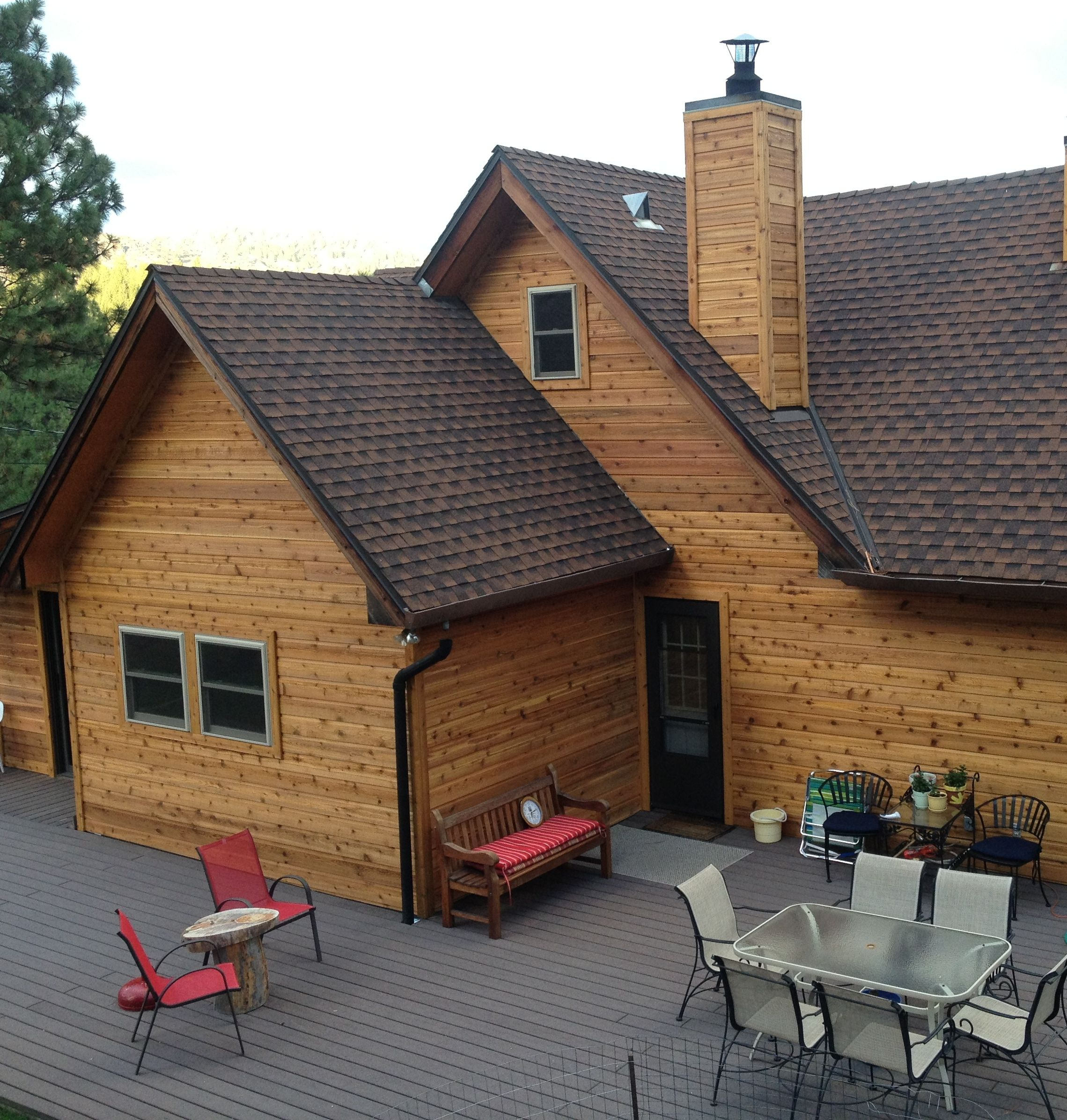 Image result for natural wood siding exterior ideas for Natural wood siding