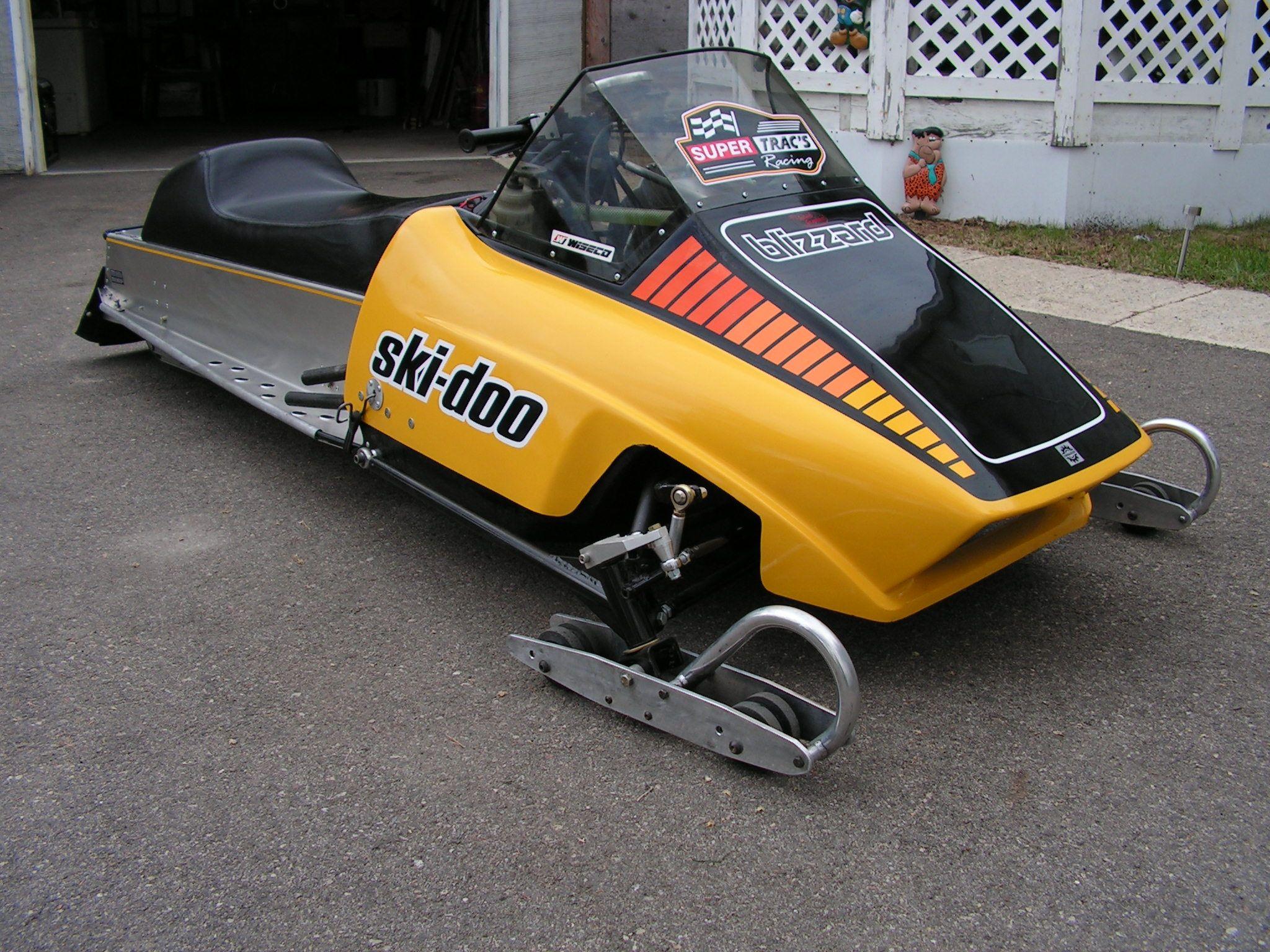 1978 Ski-doo SS clone chassis with 500cc SnoPro engine setup