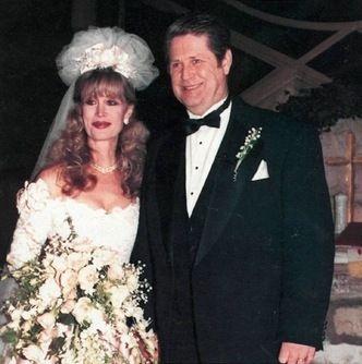 Brian Wilson avec femme Melinda Kae Ledbetter