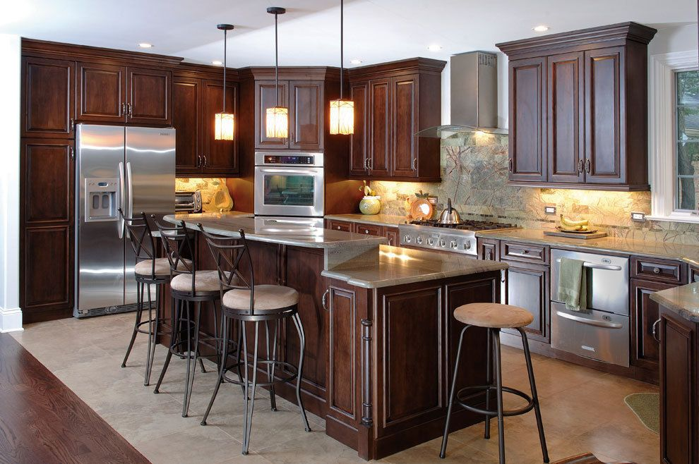Bemerkenswert Benutzerdefinierte Küche Schränke Chicago #Badezimmer ...