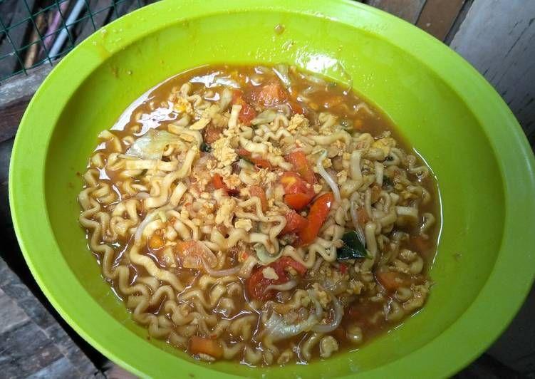 Resep Mie Kuah Pedas Ala Mie Aceh Oleh Ika Hidayatul Aini Resep Resep Makanan Masakan Makanan